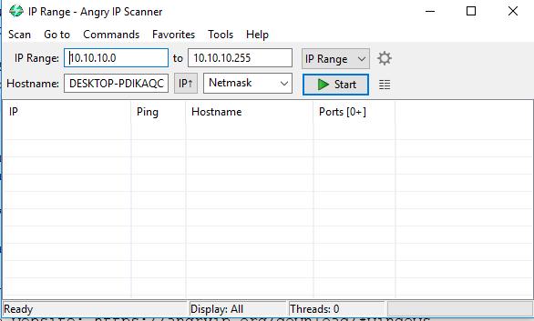 Hướng dẫn sử dụng tool ipscan trên windows   BlogCloud365