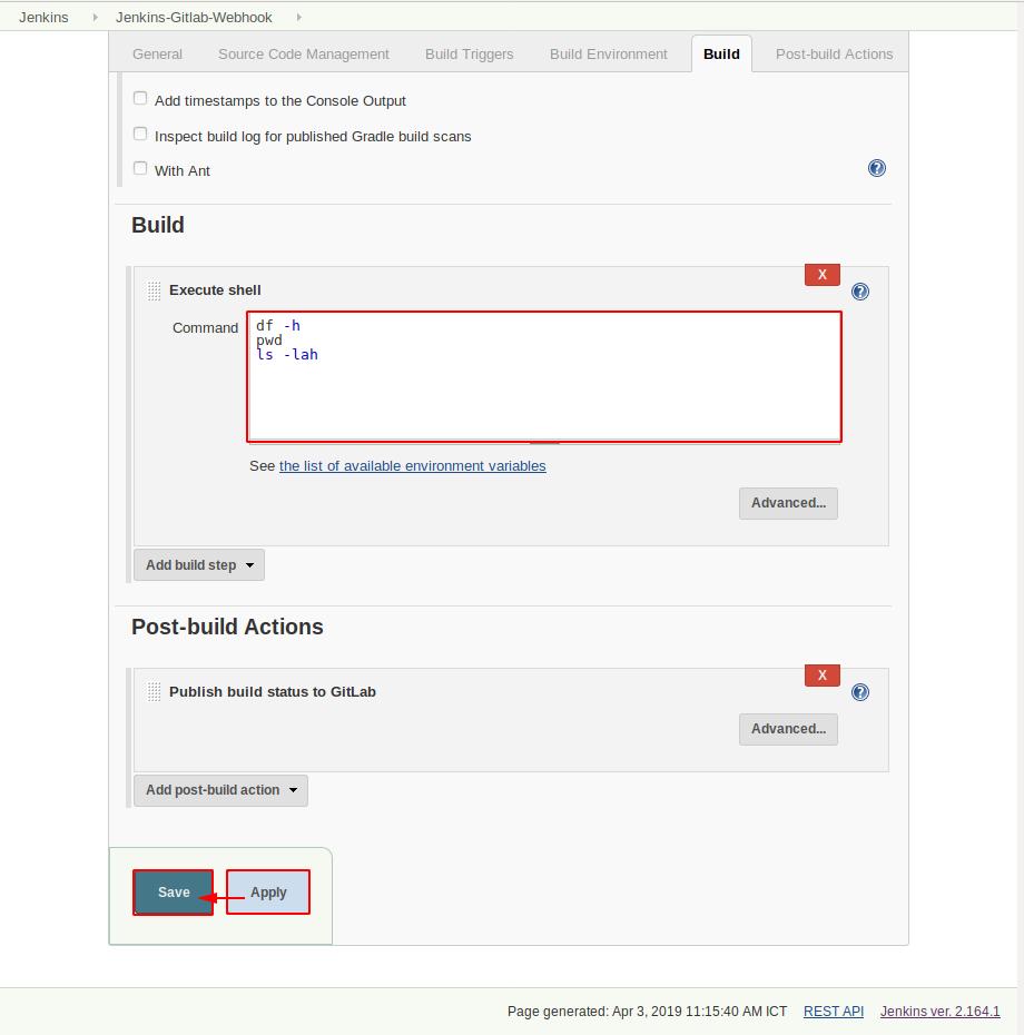 Tích hợp Jenkins với Gitlab phần 1 - Linux | BlogCloud365
